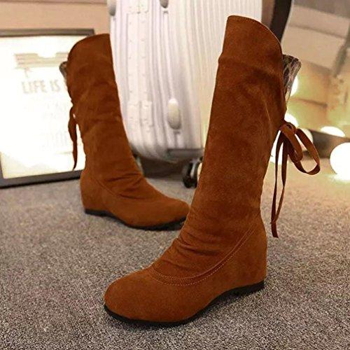 Martin Boots Bottes Botte Coloré Femme Classiques Plates Jaune EqTRqw
