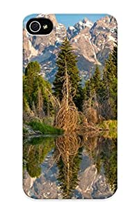 Ellent Iphone 6 Plus 5.5 Case Tpu Cover Back Skin Protector Beaver Pond For Lovers