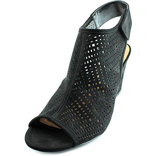 Style & Co Heatherr Simili daim Sandales Compensés Black JdrZ0MBsv9