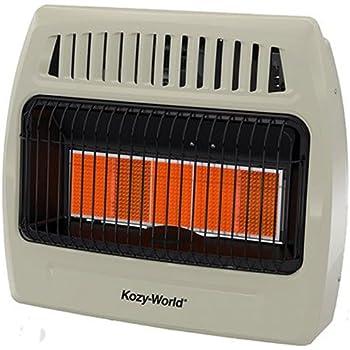 Amazon Com Kozy World Kwd525 Wall Heater Dual Fuel Gas