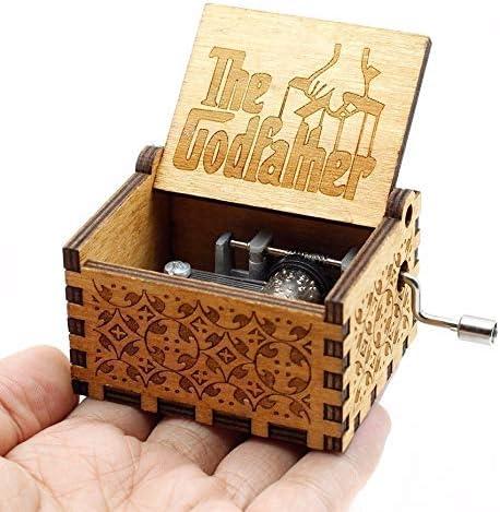 VDV Caja de música Grabado Antiguo para Año Nuevo, Regalo de ...