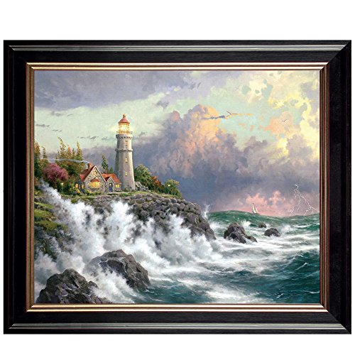 Art Glory Canvas Painting with Frame Prints Grand Lighthouse