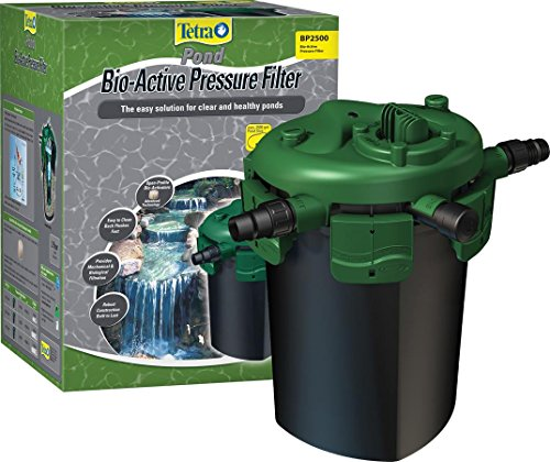 TetraPond Bio-Active Pressure Filter, For Ponds Up to 4000 Gallons