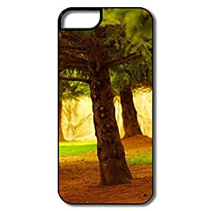 IPhone 5 5S Cases, Pine Trees White/black Cases For IPhone 5/5S