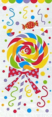 Polka Dot Cello Bags (Candy Party Cellophane Bags, 20ct)