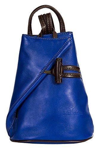 pour dos Brun Électrique Sac porté femme au à Bleu main amp; LiaTalia XRqwY4x