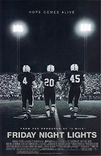 Friday Night Lights 2004 S/S Movie Poster 11.5x17
