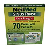 Neilmed Sinus Rinse Extra Strength Hypertonic 70 Packets