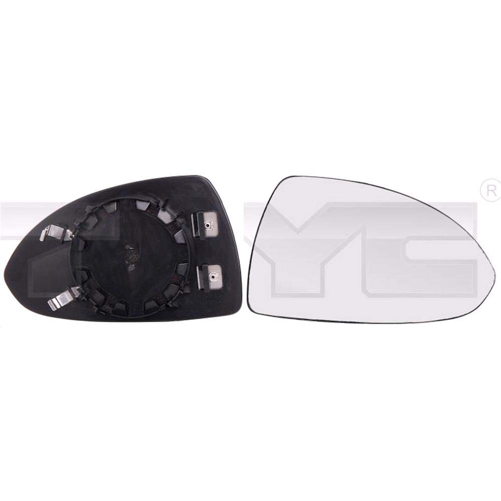 Heated Right Driver Side Wing Mirror Glass With Holder