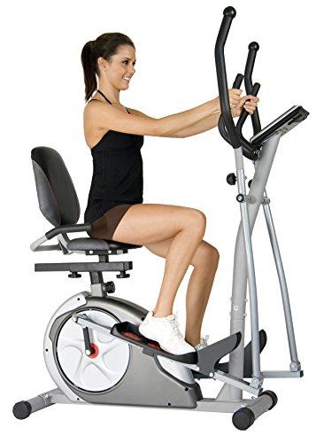 Body Rider 3-in-1 Trio-Trainer, Silver/ Red