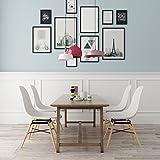 VECELO Eames Style Dining/LoungeChairSetof2
