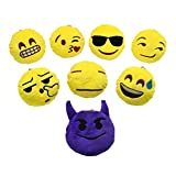YINGGG Mini Emoji Cushion Pillow, Set of 8 (set of 8 (style 1))