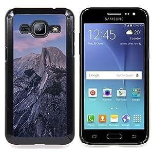 - Beautiful Rocky Mountain - - Cubierta del caso de impacto con el patr??n Art Designs FOR Samsung Galaxy J2 Queen Pattern
