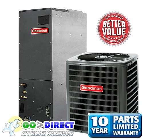 Goodman 3.5 Ton 14 SEER Heat Pump Split System