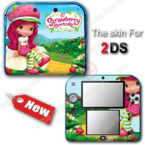 Nintendo Ds Strawberry (Strawberry Shortcake New Cute SKIN VINYL STICKER DECAL COVER for Nintendo 2DS)