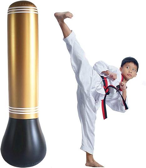 Amazon.com: Eforoutdoor - Saco de boxeo hinchable para niños ...