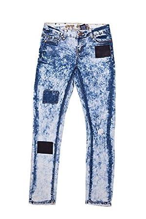 VIP Jean Soft Fabric Strech Acid Wash Girls' Skinny Denim Jean