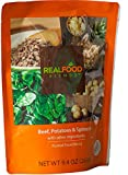 Real Food Blends Beef, Potatoes & Peas Pureed Blended Meal, 9.4 Oz Package (Pack of 12)