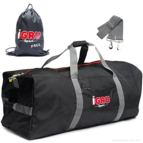 Large Team Equipment Duffle For Active Men With FREE Laundry