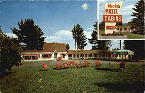 Mar-Jon Motel, Rte. U.S. 3 at Plymouth Interchange Interstate 93 Original Vintage - Us 50 Rte