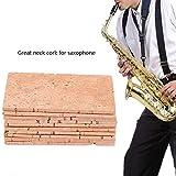 Saxophone Sax Neck Cork, 10Pcs Sax Sheet