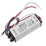 Chanzon Constant Current LED Driver (6-10)x3W 600mA 18V-34V (In:85-277V AC-DC) 18W 20W 24W 30W IP67 Waterproof High Power Supply 600 mA Lighting Transformer for 20 W COB Light Lamp Bulb (Aluminium)