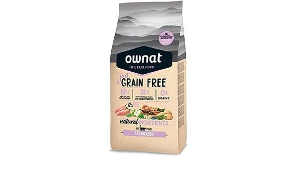 Optima Ownat Just Grain Free Sterilized pienso para Gatos ...