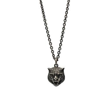 d66b8ef49cee7 Gucci Men s 60cm Gatto Necklace Silver