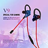 Soutege V9 in-Ear Gaming Earphones Support PS4/psp/Xbox360/Xbox one/PC - Gradual Purple