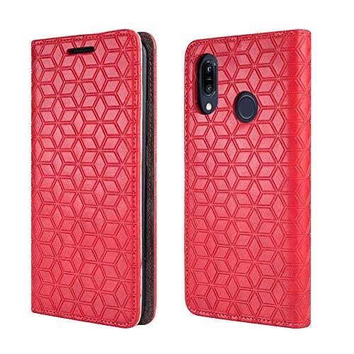 BLU Advance A6 2018 Case, BLU Vivo GO Case [Kickstand] [Card Slot+Side Pocket] Premium Soft PU Color Matching Leather Wallet Cover Flip Case Protective Case BLU Advance A6(2018) (Red)