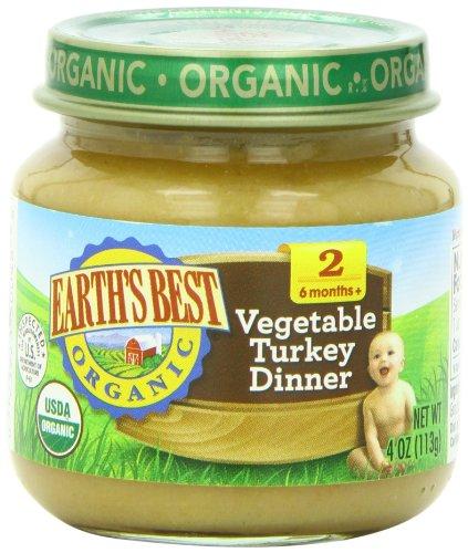 Earths Best Organic Vegetable Turkey