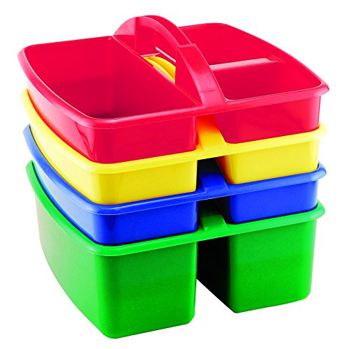EARLY CHILDHOOD RESOURCES LLC SMALL ART CADDY 4 PACK (Set of 6)