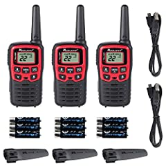 The Midland T31VP X-TALKER Walkie Talkie is an easy-to-use, license-free, and low cost yet reliable solution to long-range communication. It is a water resistant radio that provides clear point-to-point communication, reception, transmission,...