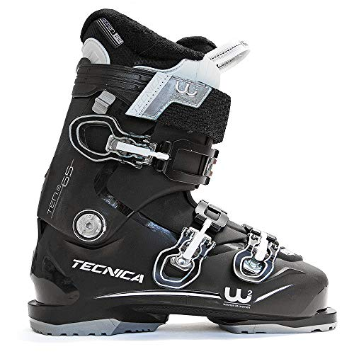 (Tecnica Ten.2 65 C.A. Ski Boots Black Womens Sz 7.5 (24.5))
