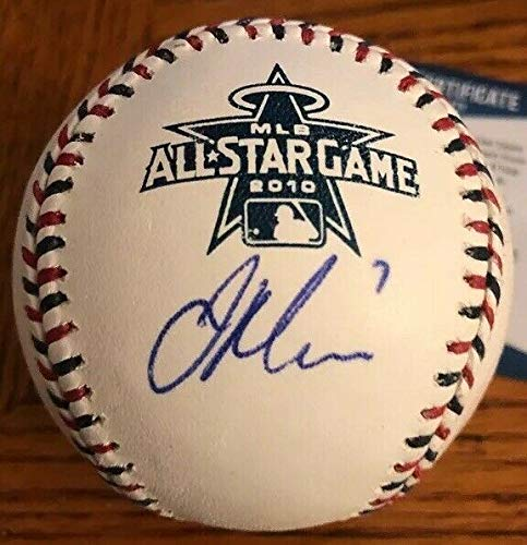 Joe Mauer Autographed Signed 2010 All Star Game Baseball Autographed Signed Beckett Authenticated - Authentic Memorabilia