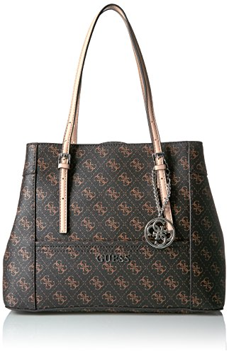 GUESS SY453536 Delaney Shopper Brown