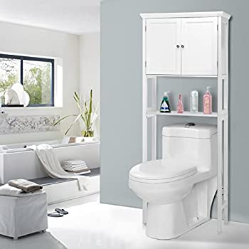 Best Choice Products Bathroom Over-the-Toilet Space Saver Storage ...
