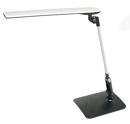 Duolec 460R200 - Lámpara de estudio LED Young extensible y plegable Negro Duolec