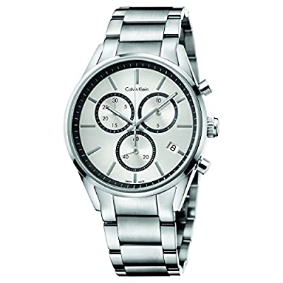 Calvin Klein watch formality chrono (former utility Chrono) Swiss ETA manufactured quartz K4M27146 Men