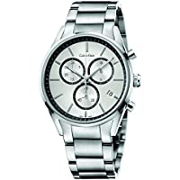 Calvin Klein Men's Formality Chrono Swiss ETA Manufactured Quartz Watch