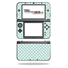 MightySkins Protective Vinyl Skin Decal for New Nintendo 3DS XL (2015) cover wrap sticker skins Aqua Picnic