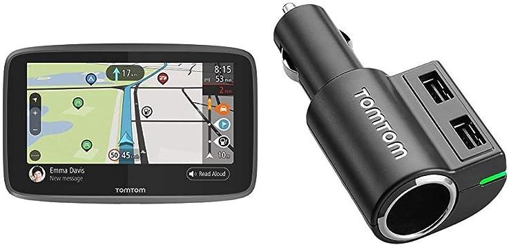 Tomtom Go Camper Navigationsgerät 15 2 Cm 6 Zoll Updates über Wi Fi Sonderziele Speziell Für Wohnmobile Und Wohnwagen Tomtom Multi Schnellladegerät Navigation