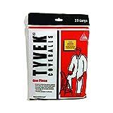 Trimaco 14125 3XL No Elastic Tyvek Coveralls, White