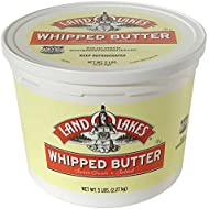 Land O Lakes Salted Whipped Butter, 5 Pound - 2 per case.