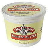 Land O Lakes Salted Whipped Butter, 5 Pound -- 2 per case.