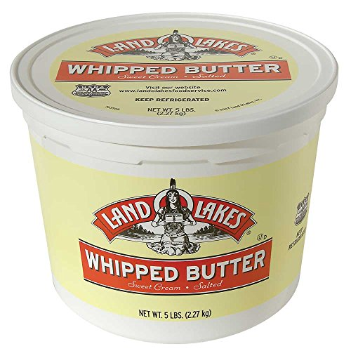 Land O Lakes Salted Whipped Butter, 5 Pound -- 2 per case. by Land O Lakes (Image #1)