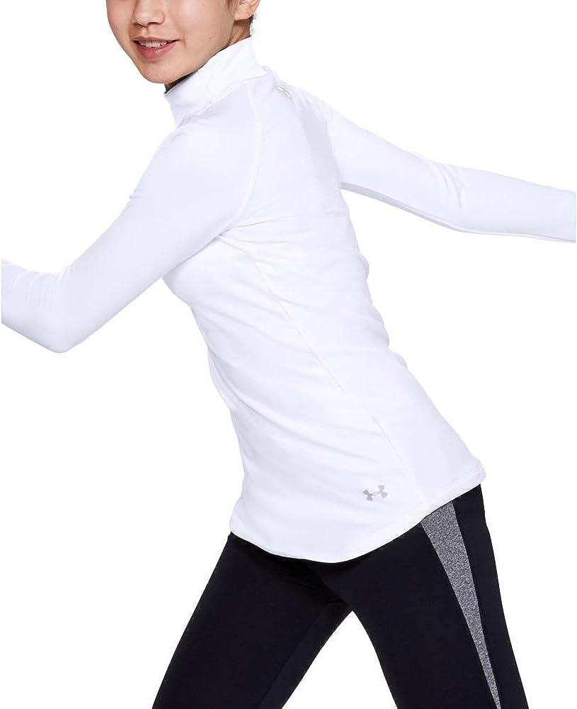 Under Armour Girls Cold Gear Mock Long Sleeve Shirt