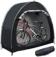 MAIZOA Outdoor Bike Covers Storage Shed Tent,210D Oxford Thick Waterproof Fabric,outdoor aluminum alloy bracke