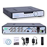 HISVISION 8CH 1080N AHD DVR 5-in-1 Hybrid (1080P NVR+1080N AHD+960H Analog+TVI+CVI)CCTV 8-channel HDMI QR Code Scan Easy Remote View Email Alerts Home Security Surveillance Camera System(No HDD) Review