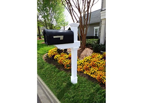 Zippity Outdoor Products Classica Mailbox Post with No-Di...